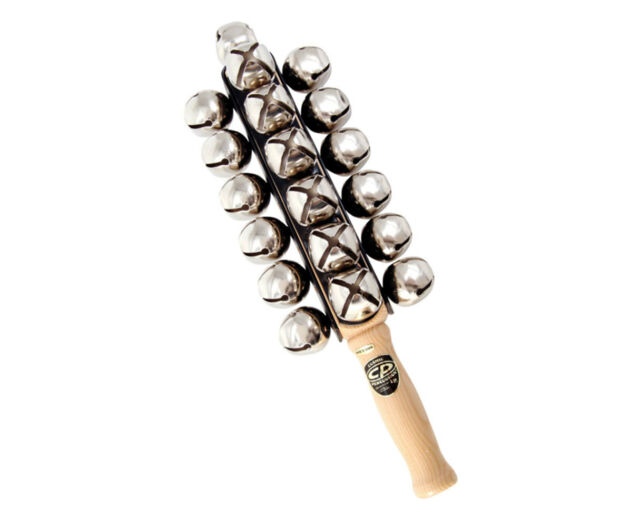 latin percussion 25 sleigh bells cp374 for sale online ebay. Black Bedroom Furniture Sets. Home Design Ideas