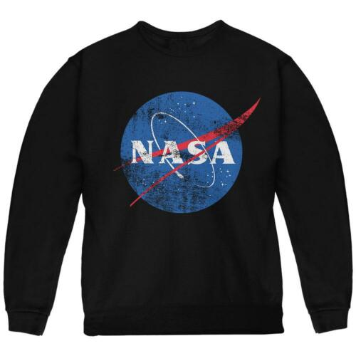 NASA Distressed Logo Youth Sweatshirt
