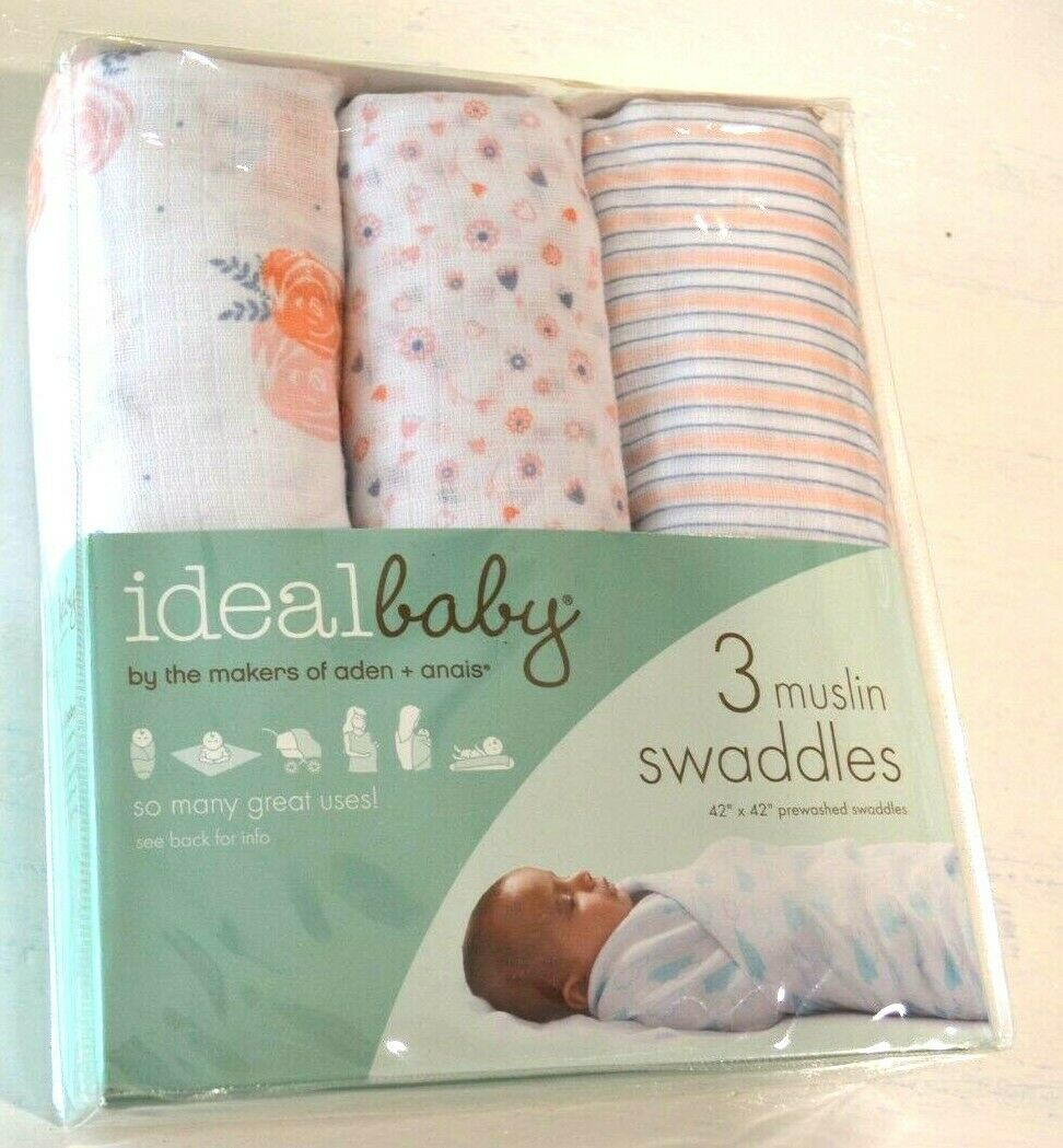 3 PACK Anais MUSY SQUARES PICKED FOR YOU Baby Dribble Cloth BN Aden