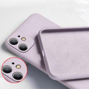 Huelle-iPhone-11-12-Pro-Max-Schutz-Tasche-Silikon-Handy-Case-Slim-Cover