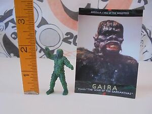 War of the Gargantuas Mini Figure GAIRA With card 28-9-16 Tokusatsu Kaiju Japan