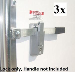 3 Keyed Alike Self Locking Cargo Trailer Cambar Door
