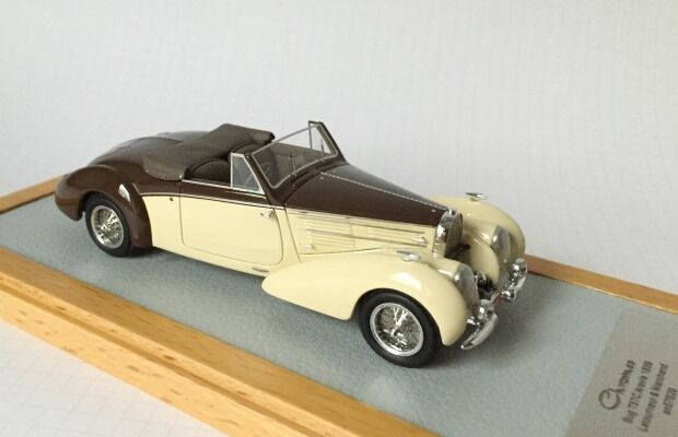 CHROMES 061 - Bugatti T57C Aravis 1939 Letourneur & Marchand sn57826 1 43