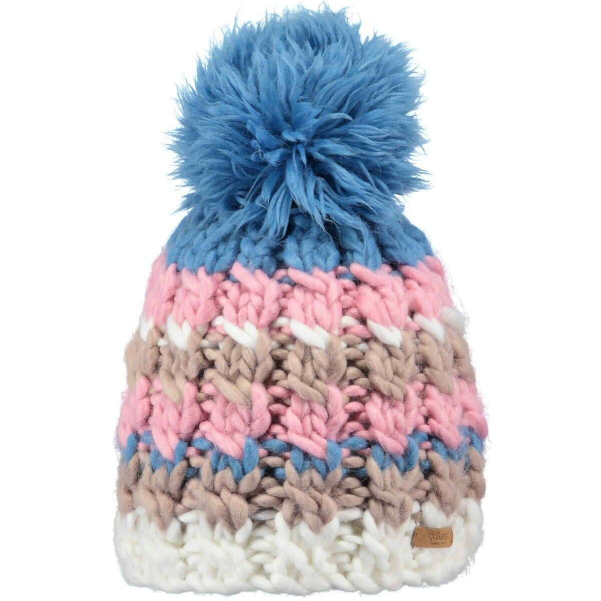 Barts Feather Beanie - bluee