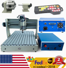 New Listing400w Usb 4 Axis Cnc 3040 Router Engraver 3d Pcb Engraving Drilling Machine Rc