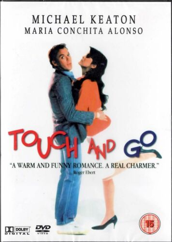 1 of 1 - Touch & Go - DVD - Michael Keaton, Maria Conchita Alonso, Maria Tucci