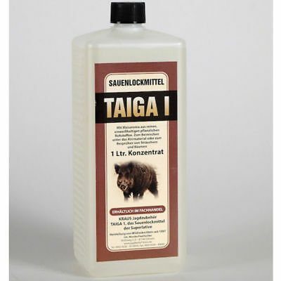 Sauenlockmittel Konzentrat Taiga1 1L Maisaroma Lockstoff Lockmittel Schwarzwild