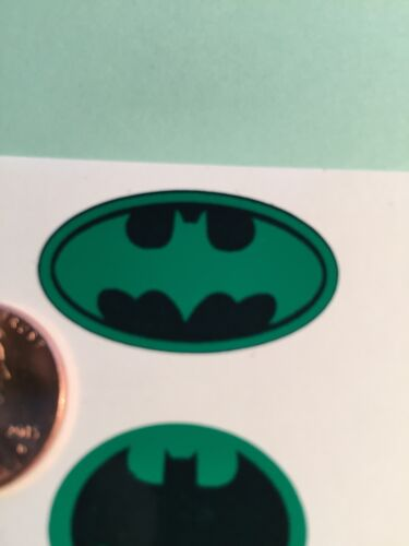 Custom Batman Decals For 12 Inch Figures Die Cut Green 1//6 Scale Set Of 6