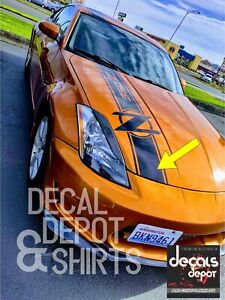 Vinyl-Decal-Stripes-for-HOOD-Fits-NISSAN-350Z-370Z-Touring-Coupe-Convertible