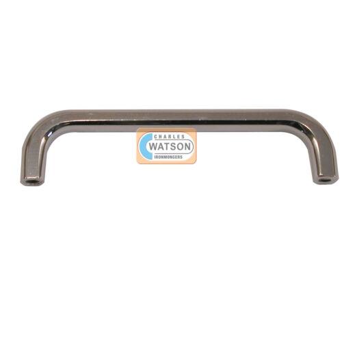 105mm Polished Chrome D Handle Knob Kitchen Cupboard Drawer Bedroom Wardrobe