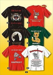 Fun-COLLECTION-Camiseta-motivo-gato-regalo-eleccion-katzen-shirt