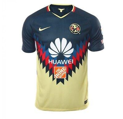 19fa76d86 CLUB AMERICA JERSEY DE LOCAL NIKE 2017-2018 MEXICO AGUILAS AMERICA JERSEY  NIKE   eBay