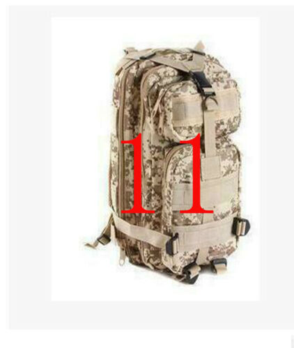 30L Sports Outdoor Military Rucksacks Tactical Molle Backpack Camping Hiking US