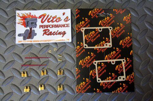 12 main jets /& 2 pilot /& 2 needles MIKUNI Vito/'s Yamaha Banshee FULL JET KIT