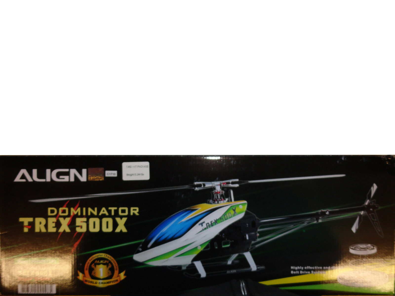 Align Trex 500 X Dominator 500 Sized Electric Helicopter