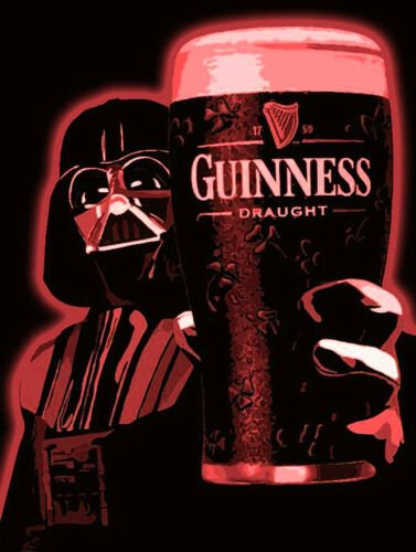 Retro Metal Signs//Plaques Man Cave Novelty Gift Guinness Star Wars//Sports Bar