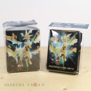Pokemon-Kartenspiel-Deck-Case-Sleeve-verboten-Light-64-Sleeves-Ultra-necrozma