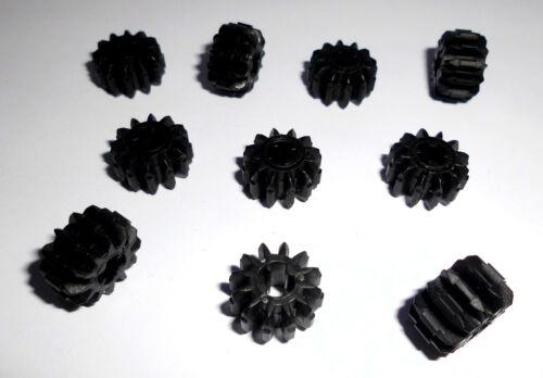 32270 10 engranajes 12 dientes ancho Lego en negro de 9398 8295 8258 9397