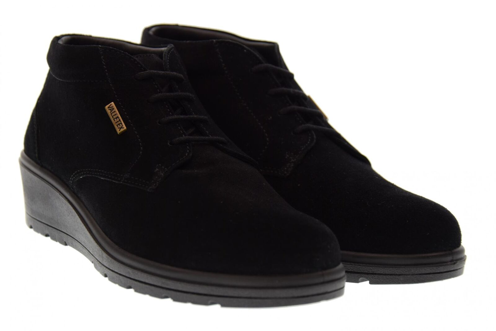 Vallegreen a17s high wedge shoes v18505 black