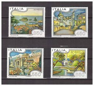S17880) Italy 1986 MNH New Tourism 4v