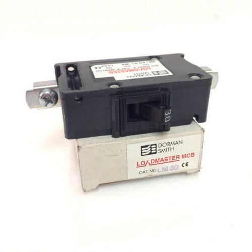 Interruptor de circuito bipolar de 1 LM1P-30A Dorman Smith supervisor de carga M1.5-30