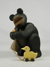 Pozy Bears 'Friends Of A Feather' - Bear With A Duck Figurine  #320018  NIB