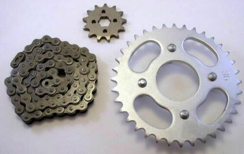 NEW 420x72 Chain 14T Front 35T Rear Sprocket Kit for the 1973-1981 Honda Atc 70