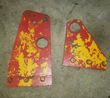 Vintage Bf Avery A Tractor Rock Shaft Brackets Set Of 2 Mm Parts Hydraulic Lift