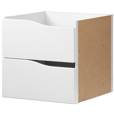 Einsätze Für Kallax : ikea kallax einsatz mit 2 schubladen wei 33x33 f r ~ Watch28wear.com Haus und Dekorationen