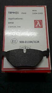 BMW-3-SERIES-E36-SET-REAR-BRAKE-PADS-SERIE-PASTIGLIE-POSTERIORI-320-316-316-D