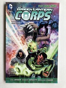Green Lantern Corps Volume 5 Uprising - DC Comics New 52 TPB Graphic Novel -Htf!