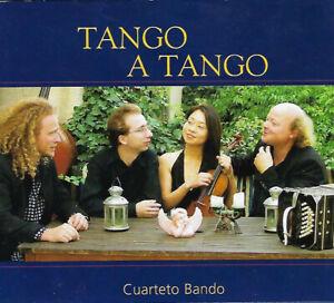"""CD """"Tango a Tango"""" CUARTETO BANDO"""