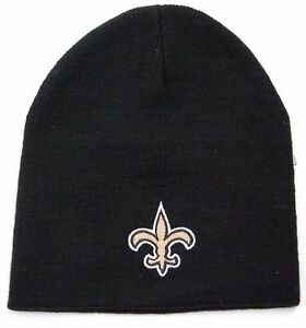 best place newest collection cost charm New Orleans Saints NFL Team Apparel Cuffless Knit Winter Hat ...