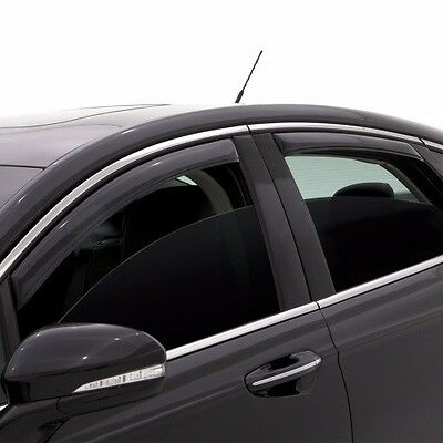 Rain Guards Visor 4pcs Out-Channel Deflector For Chevrolet Sonic Sedan 2017-2018