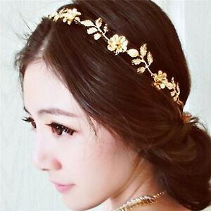 Copricapo-per-capelli-con-fascia-elastica-in-metallo-con-fiore-foglia-oro-CR-QCR