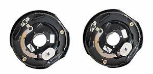 TWO-12-034-x-2-Trailer-Brake-Backing-Plates-5K-7000-Shoe