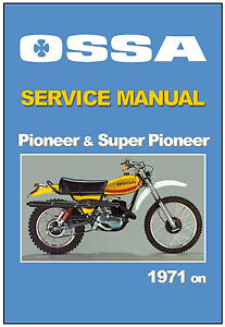 Ossa workshop manual pioneer super 125 175 1971 1972 1973 1974 image is loading ossa workshop manual pioneer amp super 125 175 asfbconference2016 Images