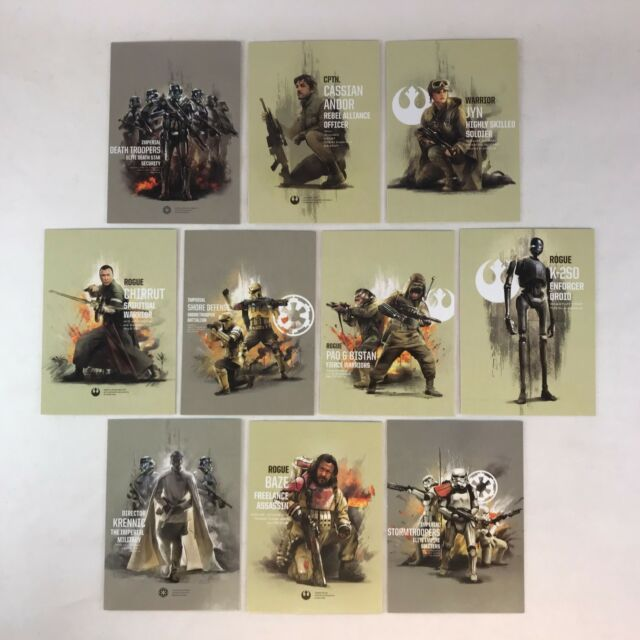 Star Wars Rogue One Series 2 Character Sticker Chase Card CS-3 Moroff