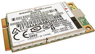HP 2510p 2710p 6710b Sierra MC8775 3G WWAN Modem mini pcie Card