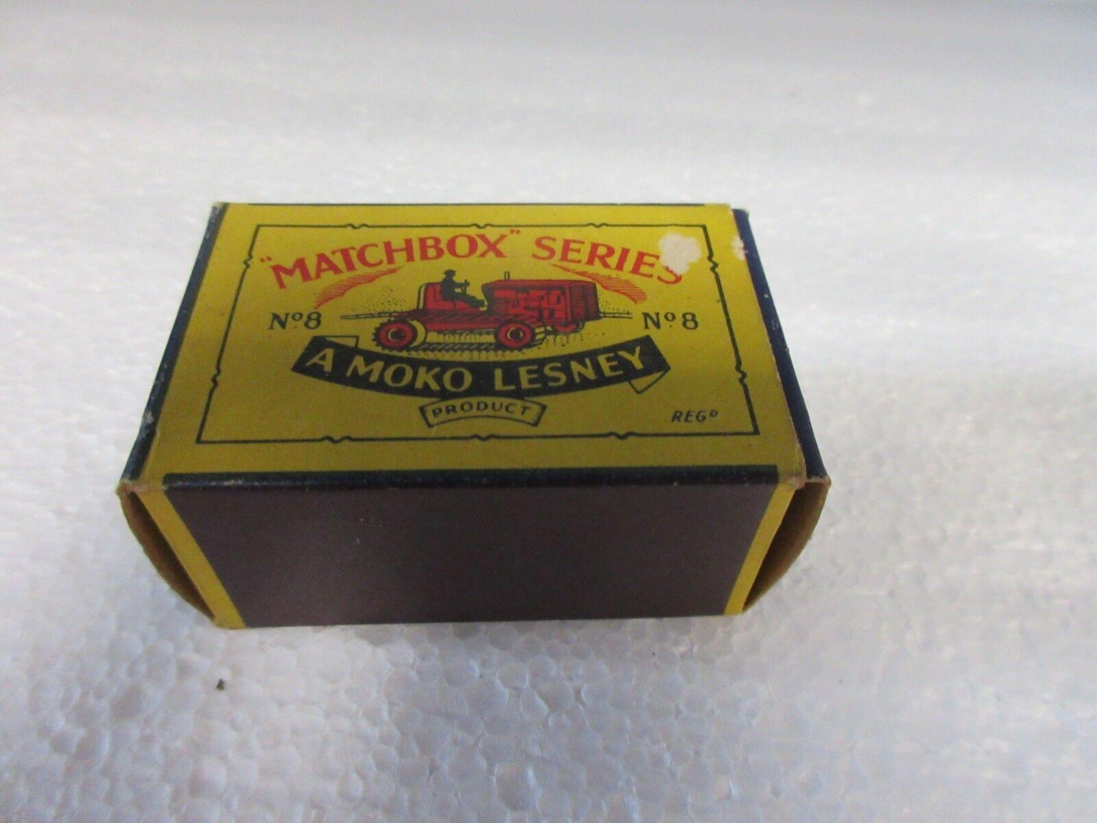 Die moko lesney produkt matchbox - serie   8.