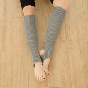 Exercising-Sports-Long-Section-Dancing-Warm-Women-Socks-Yoga-Knitting