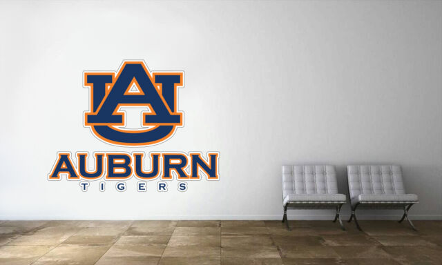 Auburn Tigers Football Wall Decal Vinyl Sticker Art Decor EXTRA LARGE L103