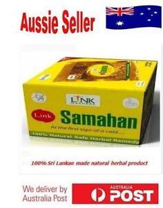 Natural Herbal Tea Ayurvedic Link Samahan Drink For Cough