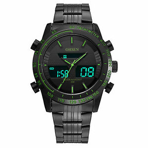OHSEN-Mens-Sport-Dress-Military-Black-Analog-Digital-Alarm-Date-Day-Quartz-Watch
