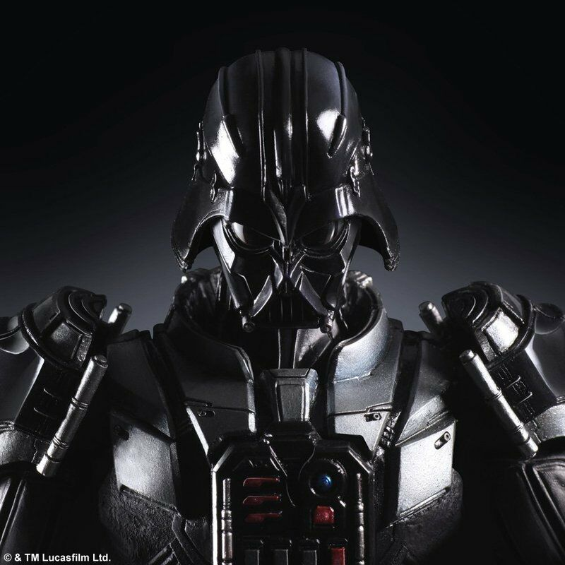 Used Square Square Square Enix Star Wars Darth Vader figure VARIANT Play Arts Kai Authentic 20f680