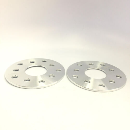 2X HUBCENTRIC WHEEL SPACERS ADAPTERS 5X114.3 ¦ 12X1.25 ¦ 56.1 CB ¦ 7MM STI