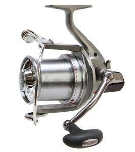 Daiwa-DCR4-Basia-Custom-Big-Pit-fishing-reel-Gris-corps-argent-rouge-Bobine-Nouveau-Carpe