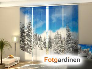 Window Treatments & Hardware Fotogardinen Light Schiebevorhang Schiebegardinen Vorhang Gardinen 3d Fotodruck Home & Garden