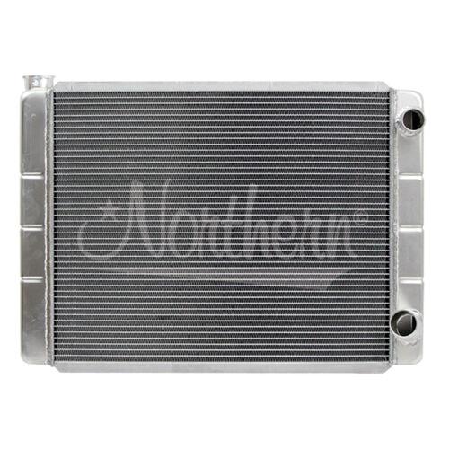 209624 Northern Aluminum Radiator GM Fit 28 x 19 Double Pass 2-Row Racing