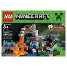 LEGO Minecraft The Cave 21113 Set - Build Your Own Creation Age 8